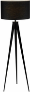 Adesso 6424-01 Director Modern Black Lighting Floor Lamp