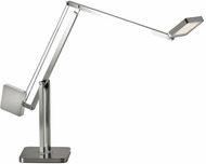 Adesso AD9130-22 Cooper Contemporary Brushed Steel LED Desktop Lamp