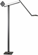 Adesso AD9131-01 Cooper Modern Matte Black LED Light Floor Lamp