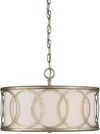 Affordable Lighting Argentum Drum Pendant Lighting