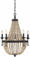 Affordable Lighting Oil Rubbed Bronze Ceiling Chandelier