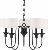 Affordable Lighting Aged Iron Hanging Chandelier