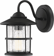 Affordable Lighting Matte Black Outdoor Wall Lamp