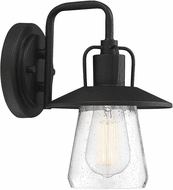 Affordable Lighting Matte Black Exterior Wall Light Fixture