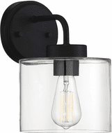 Affordable Lighting Matte Black Exterior Lighting Sconce