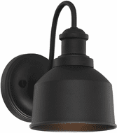 Affordable Lighting Matte Black Outdoor Wall Sconce Light