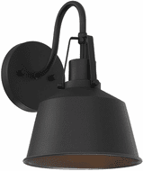 Affordable Lighting Matte Black Outdoor Sconce Lighting
