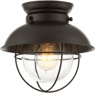 Affordable Lighting Oil Rubbed Bronze Exterior Flush Mount Light Fixture