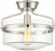 Affordable Lighting Contemporary Polished Nickel Ceiling Lighting Fixture