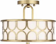 Affordable Lighting Contemporary Natural Brass Overhead Lighting