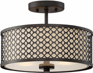 Affordable Lighting Contemporary Oil Rubbed Bronze Overhead Light Fixture