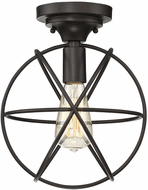 Affordable Lighting Contemporary Oil Rubbed Bronze Flush Mount Lighting