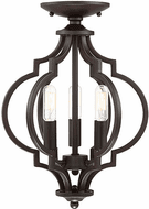 Affordable Lighting Oil Rubbed Bronze Convertible Ceiling Lighting Fixture