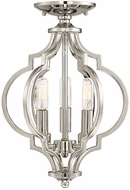 Affordable Lighting Polished Nickel Convertible Ceiling Light Fixture