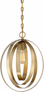 Affordable Lighting Modern Natural Brass Pendant Lighting