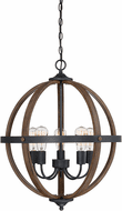 Affordable Lighting Wood 22  Ceiling Pendant Light