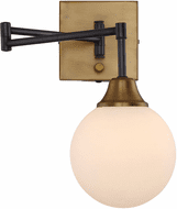 Meridian M90006-79 Modern Oiled Rubbed Bronze Wall Swing Arm Lamp