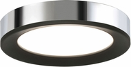 AFX AAF121400L30D1BKPC Alta Contemporary Black / Chrome LED Indoor / Outdoor 12  Ceiling Lighting