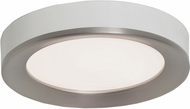 AFX AAF121400L30D1SNWH Alta Modern Satin Nickel / White LED Interior / Exterior 12  Ceiling Light