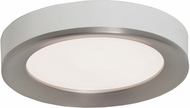 AFX AAF162600L30D1SNWH Alta Modern Satin Nickel / White LED Interior / Exterior 16  Ceiling Lighting Fixture
