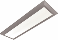 AFX ATLF12241800L30D1SN Atlas Contemporary Satin Nickel LED Interior / Exterior 27  Flush Ceiling Light Fixture