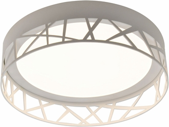 AFX BOF162600L30D1WH Boon Contemporary White LED Interior / Exterior Home Ceiling Lighting