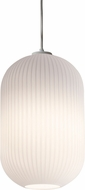 AFX CALP09WH Callie Contemporary White 9 Mini Hanging Lamp