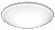 AFX CFF142400LWH Capri White LED Indoor / Outdoor 14  Flush Ceiling Light Fixture