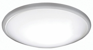 AFX CFF193100LBN Capri Brushed Nickel LED Interior / Exterior 19  Flush Mount Ceiling Light Fixture