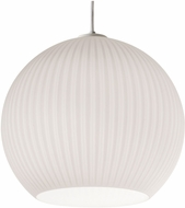 AFX CLEP13WH Cleo Modern White Hanging Light