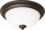 AFX CYF15218GU27RB Canterbury Oil-Rubbed Bronze Fluorescent 15  Ceiling Light Fixture