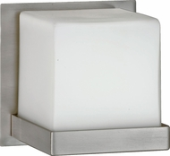 AFX MRS113SNSCT Monroe Contemporary Satin Nickel Fluorescent Wall Sconce