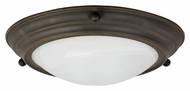 AFX Oil Rubbed Bronze Transitional Flush Lighting With Size Options