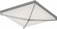 AFX PEAF1624LAJUDSN Pearson Contemporary Satin Nickel LED 16 Ceiling Light Fixture