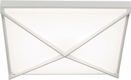 AFX PEAF1624LAJUDWH Pearson Modern White LED 16 Ceiling Lighting Fixture