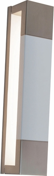 AFX PTS3151200L30D1SNWH Post Modern White LED Exterior Wall Light Sconce