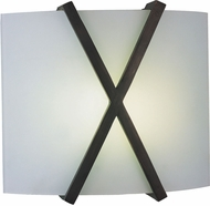 AFX RES1211226QMVRB Restoration Oil-Rubbed Bronze Fluorescent Lighting Wall Sconce