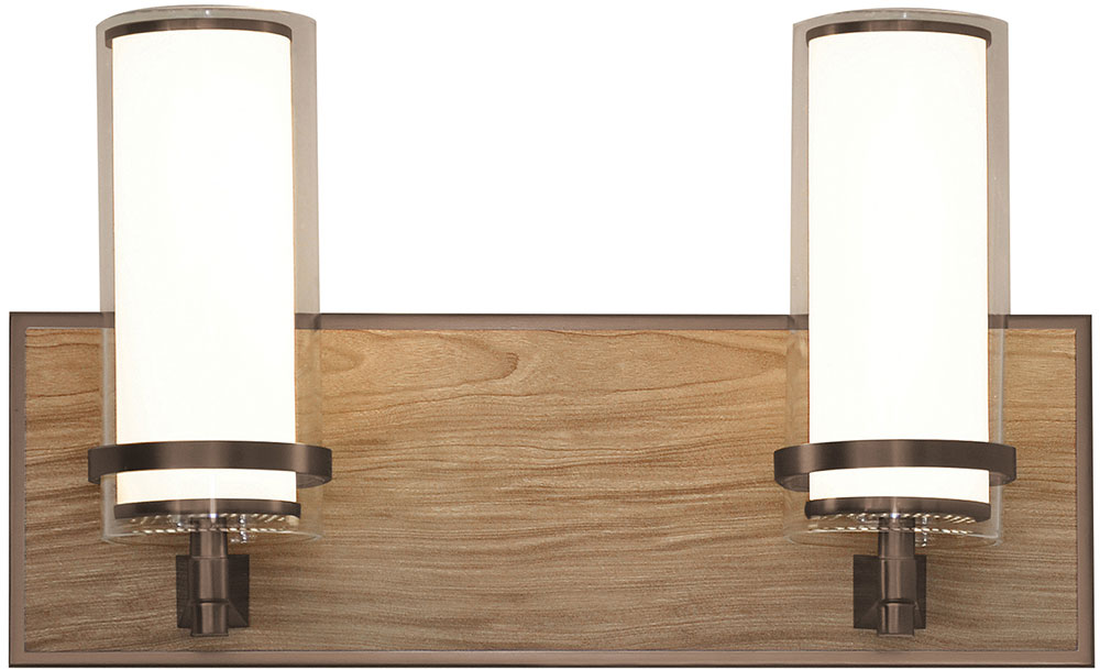 AFX RNV15081200L30D1RB Arden Oil-Rubbed Bronze LED 2-Light Bathroom ...