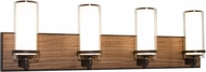 AFX RNV30082400L30D1RB Arden Oil-Rubbed Bronze LED 4-Light Bathroom Lighting Fixture