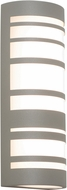 AFX STCW071228LAJD2TG Stack Contemporary Textured Grey LED Exterior 12  Wall Light Sconce
