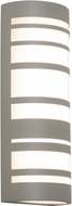 AFX STCW071833LAJD2TG Stack Contemporary Textured Grey LED Exterior 18  Wall Light Sconce