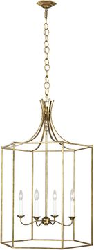 AH Alexa Hampton AC1024ADB Bantry House Antique Gild Foyer Lighting Fixture