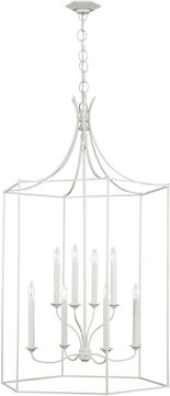 AH Alexa Hampton AC1038GCM Bantry House Gloss Cream Foyer Lighting Fixture