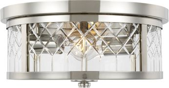 AH Alexa Hampton AF1072PN Alec Polished Nickel Ceiling Lighting Fixture