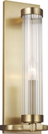AH Alexa Hampton AW1041BBS Demi Modern Burnished Brass Overhead Light Fixture