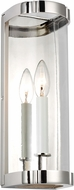 AH Alexa Hampton AW1081PN Thompson Modern Polished Nickel Wall Lamp