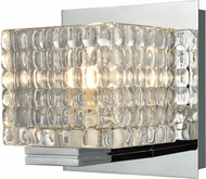 Alico BV2311-0-15 Chastain Contemporary Chrome Halogen Wall Lamp