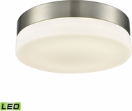 Alico FML4050-10-16M Holmby Satin Nickel LED Medium Ceiling Light Fixture