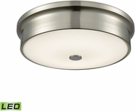 Alico FML4225-10-16M Towne Satin Nickel LED Small Flush Mount Lighting