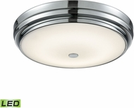 Alico FML4750-10-15 Garvey Chrome LED Large Flush Mount Ceiling Light Fixture